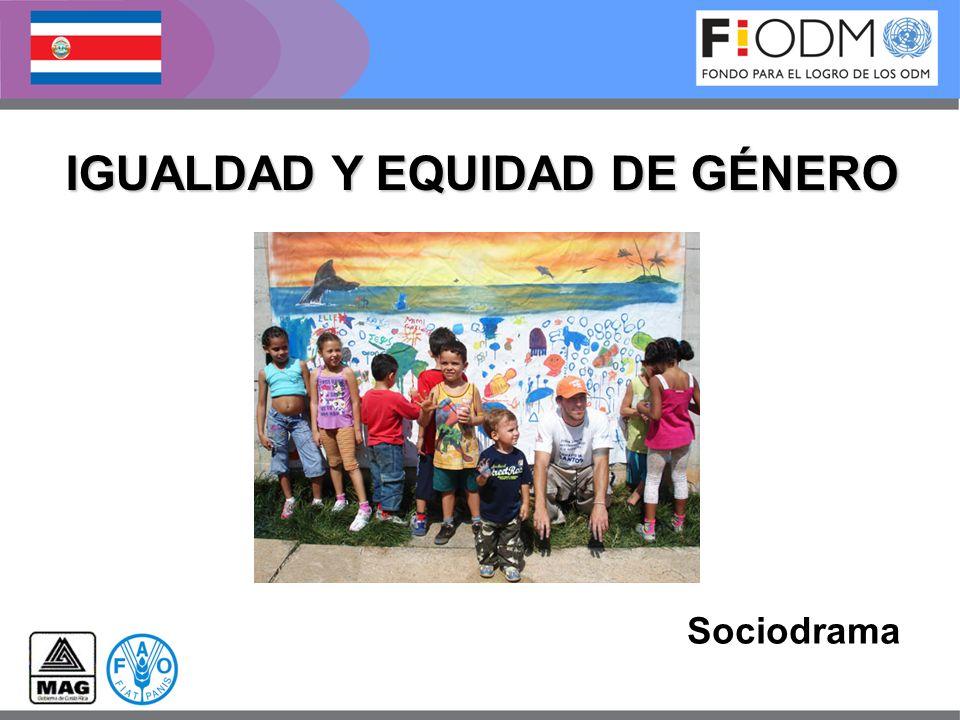 IGUALDAD Y EQUIDAD DE GÉNERO