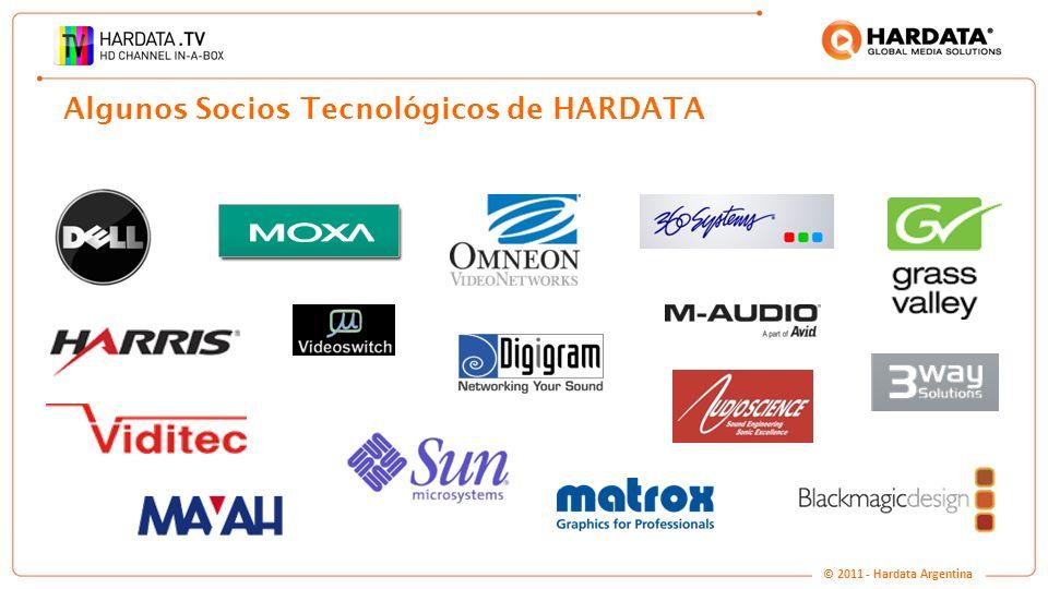 Algunos Socios Tecnológicos de HARDATA