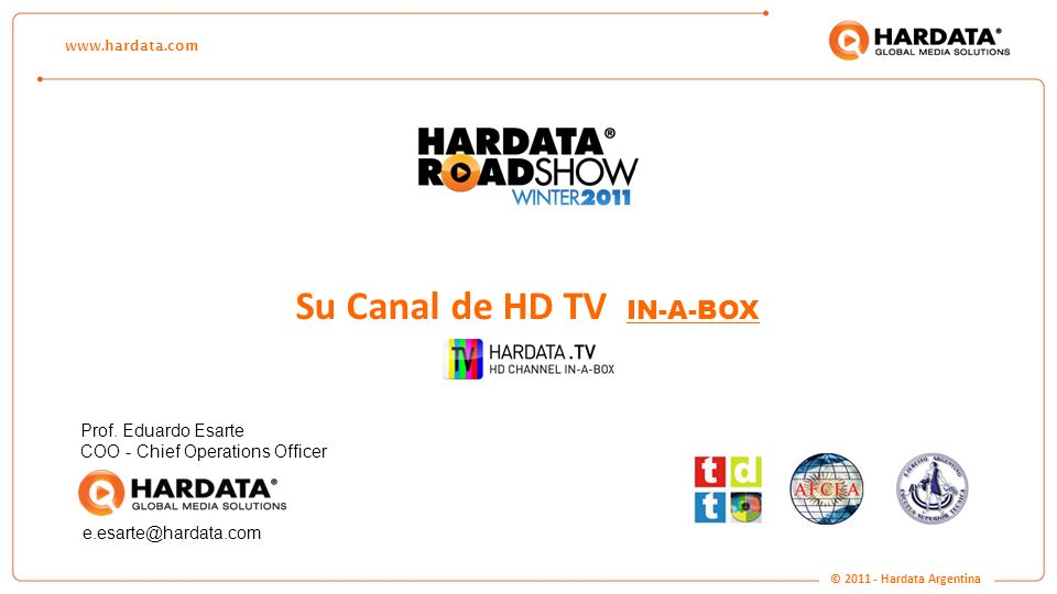Su Canal de HD TV IN-A-BOX