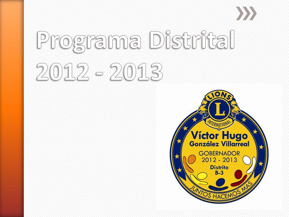 Programa Distrital 2012 - 2013