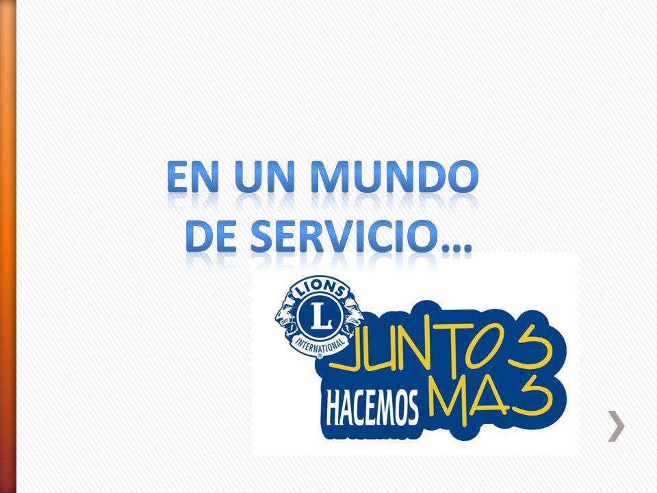 EN un mundo de servicio…