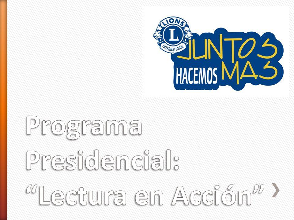 Programa Presidencial: Lectura en Acción