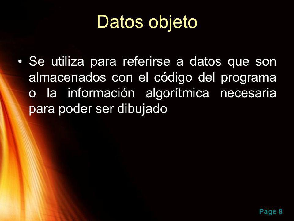 Datos objeto