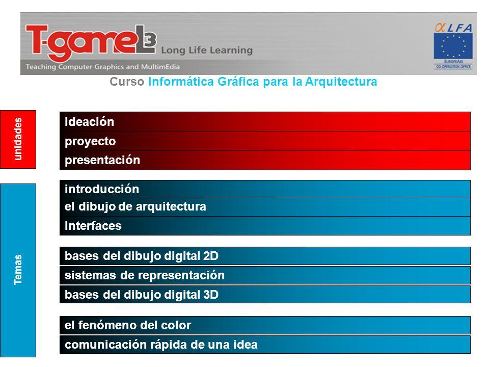 Curso Informática Gráfica para la Arquitectura
