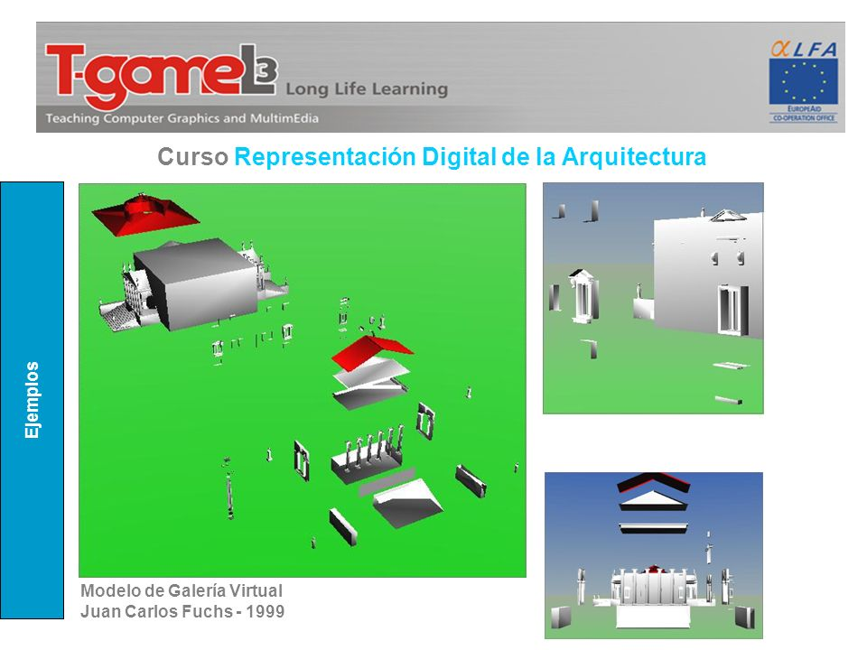 Curso Representación Digital de la Arquitectura