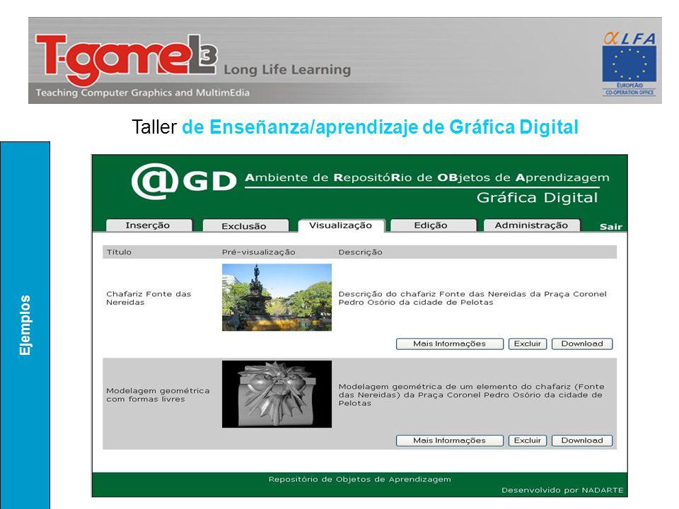 Taller de Enseñanza/aprendizaje de Gráfica Digital