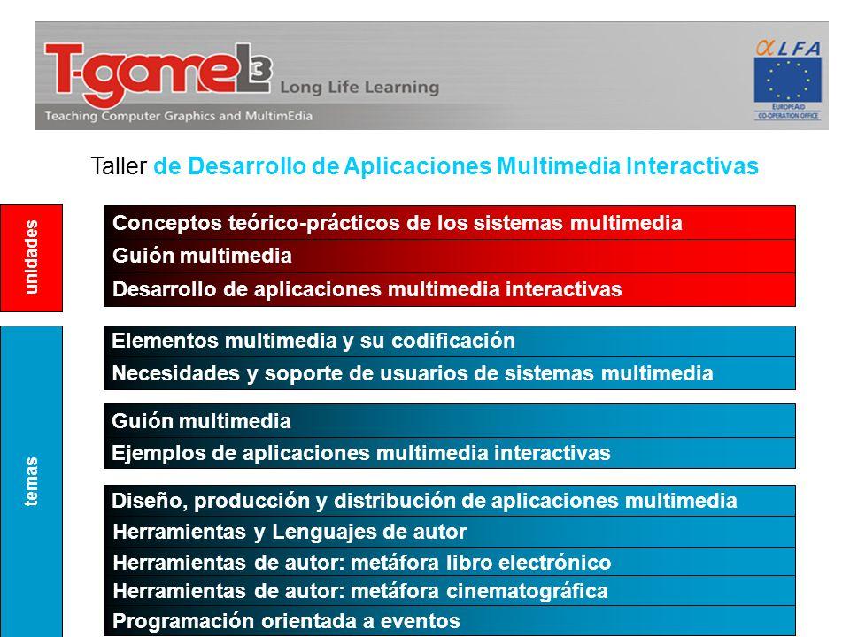Taller de Desarrollo de Aplicaciones Multimedia Interactivas