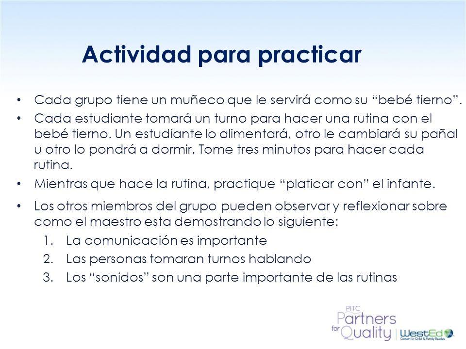 Actividad para practicar