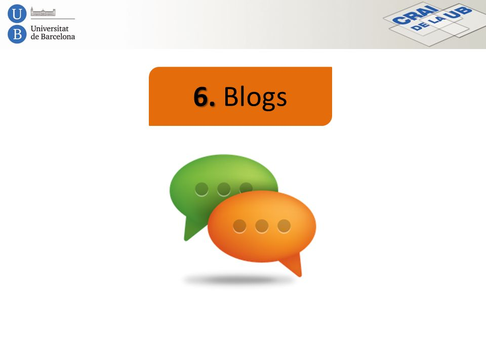 6. Blogs