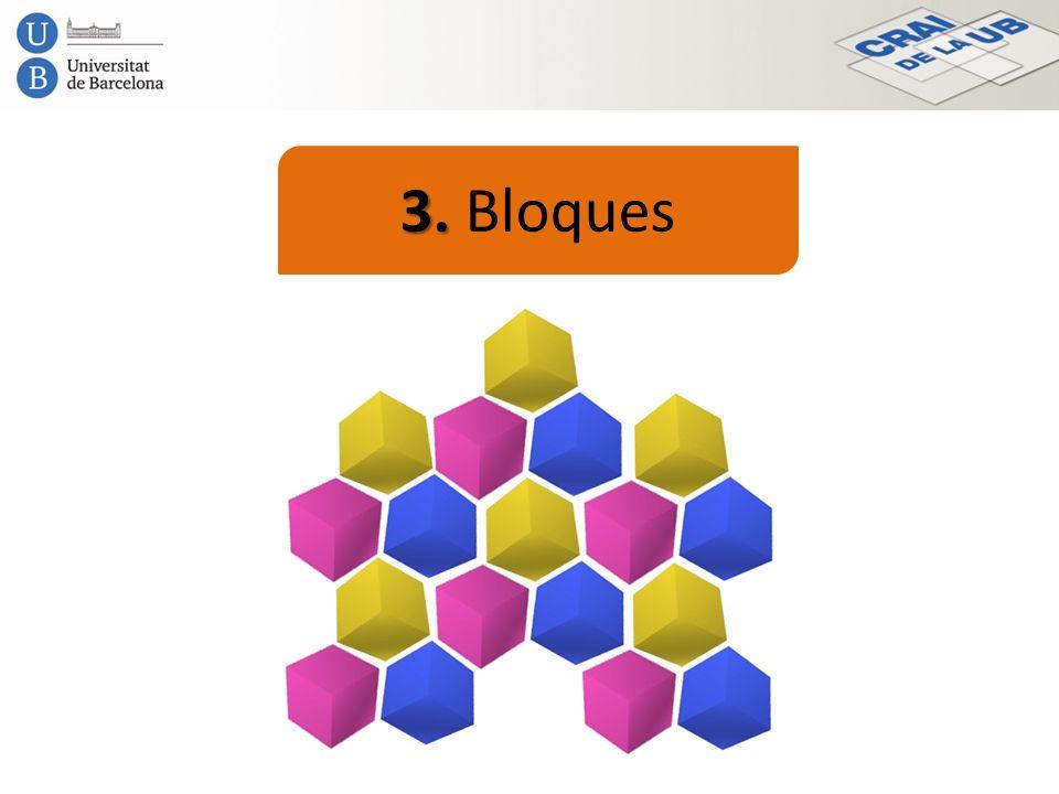 3. Bloques