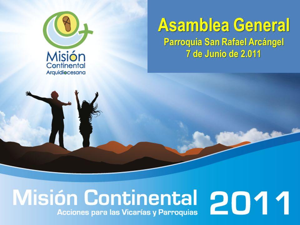 Asamblea General Parroquia San Rafael Arcángel
