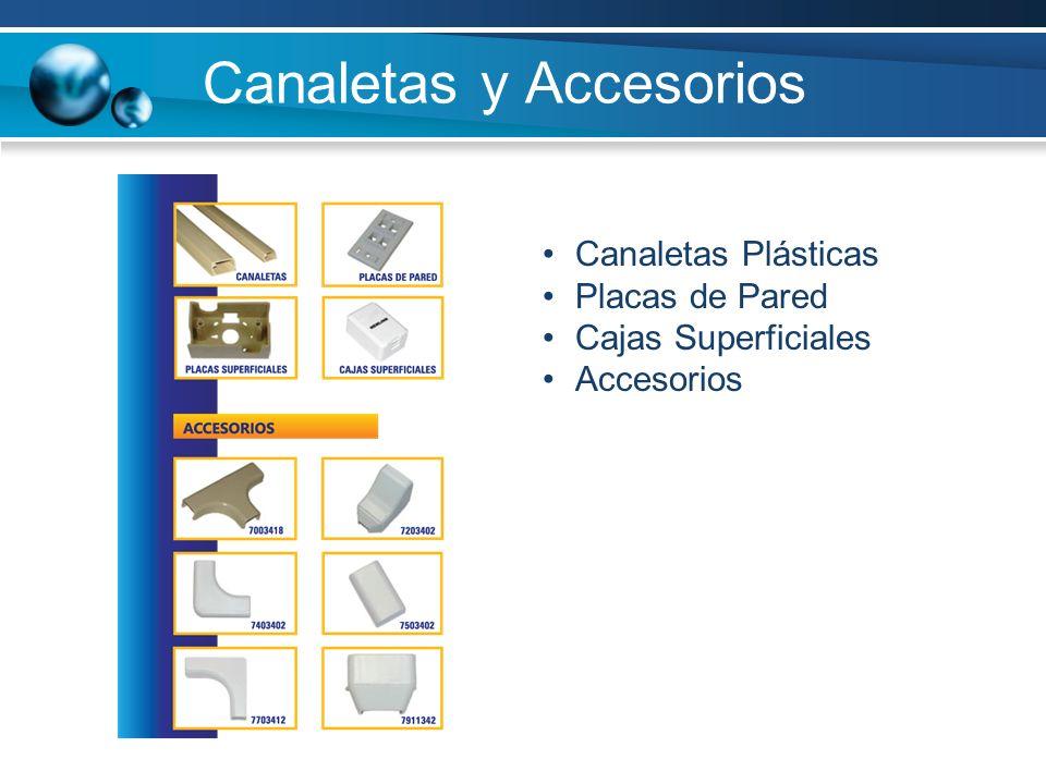 Canaletas y Accesorios