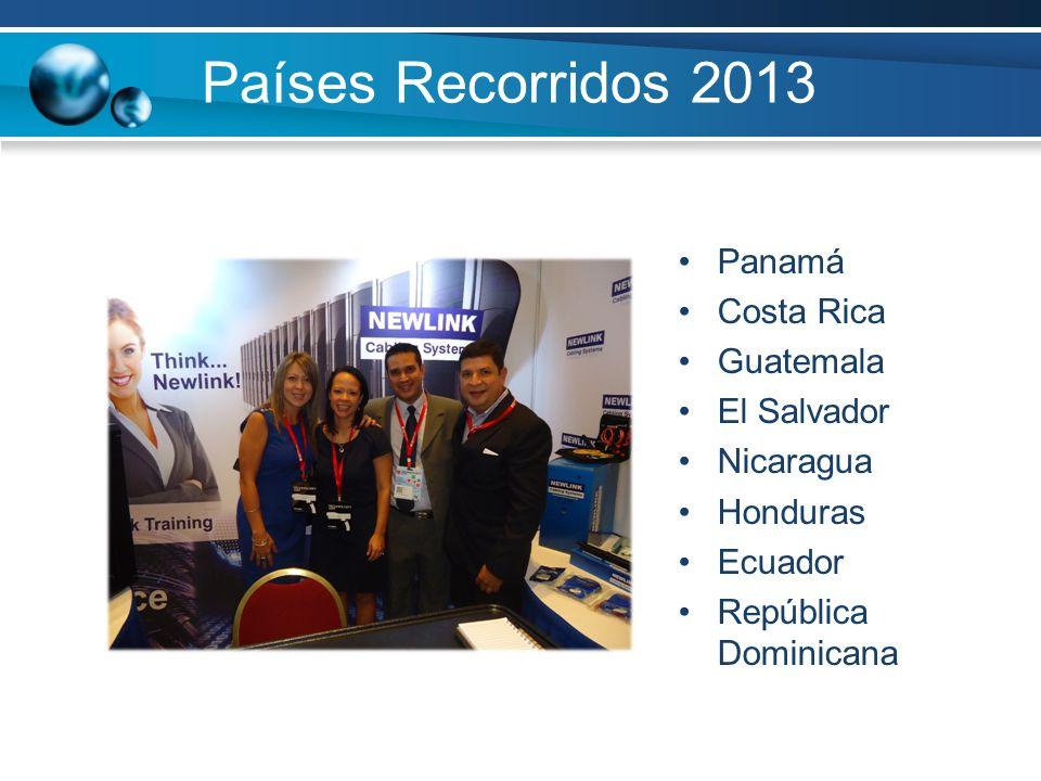 Países Recorridos 2013 Panamá Costa Rica Guatemala El Salvador