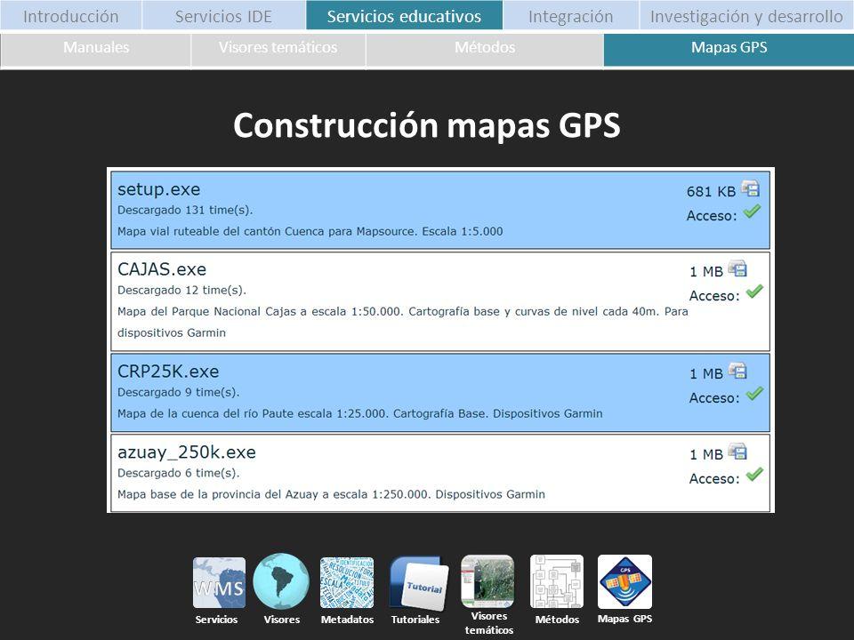 Construcción mapas GPS