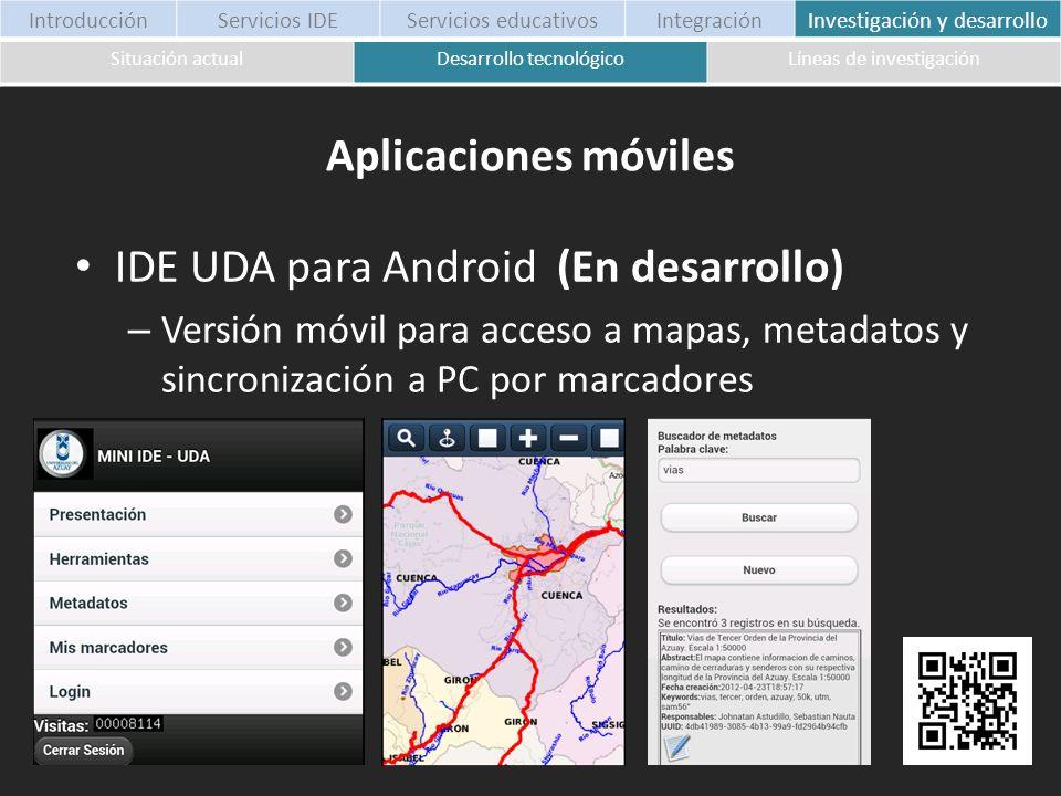 IDE UDA para Android (En desarrollo)