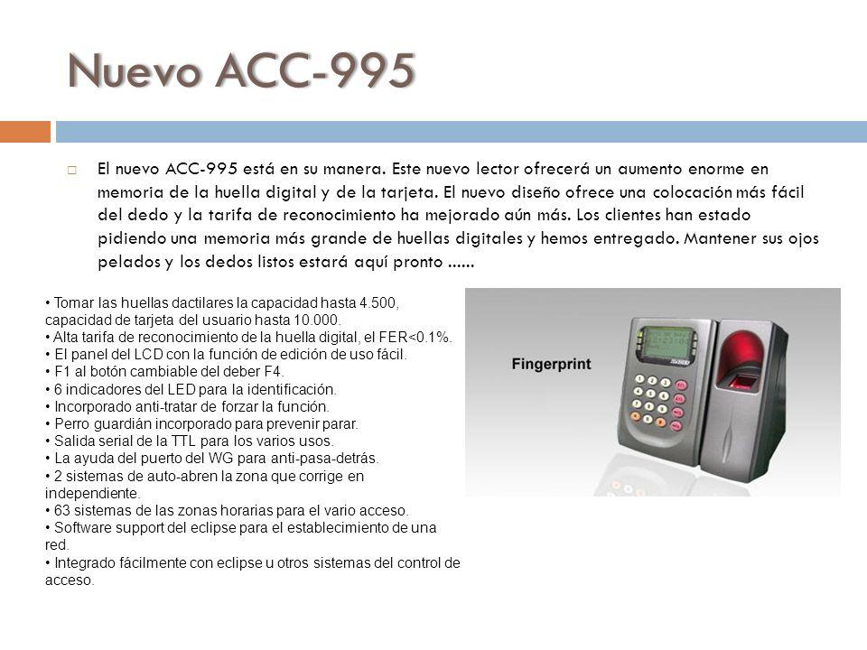 Nuevo ACC-995