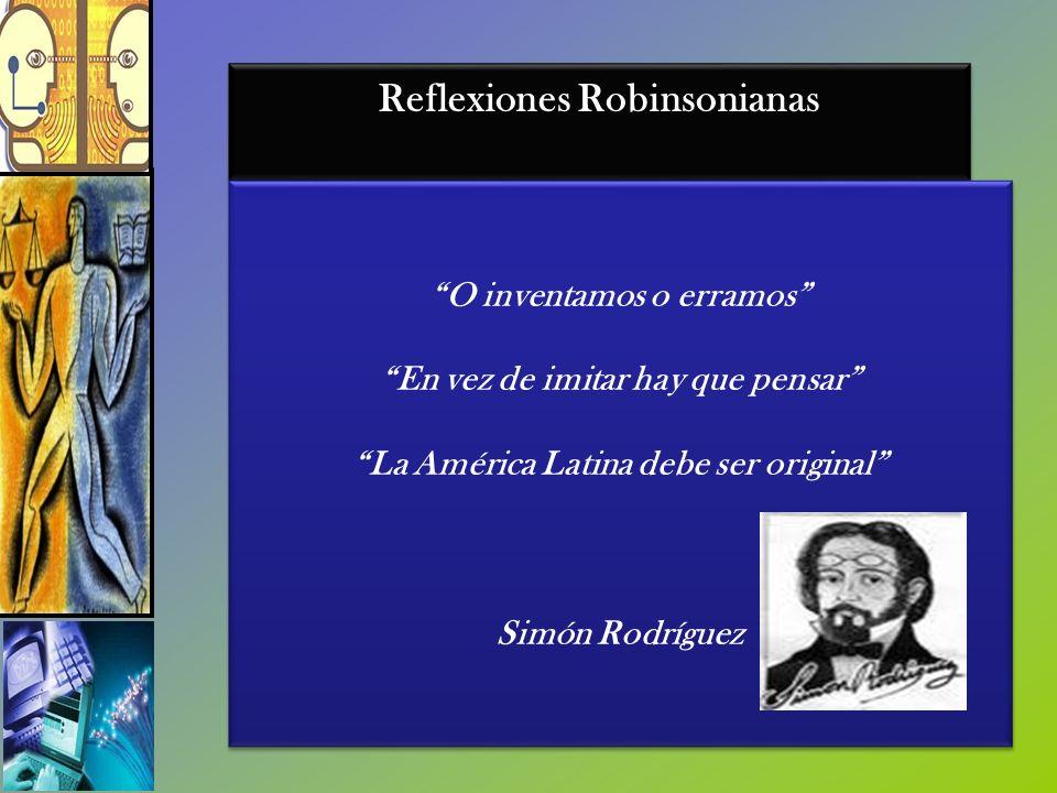 Reflexiones Robinsonianas
