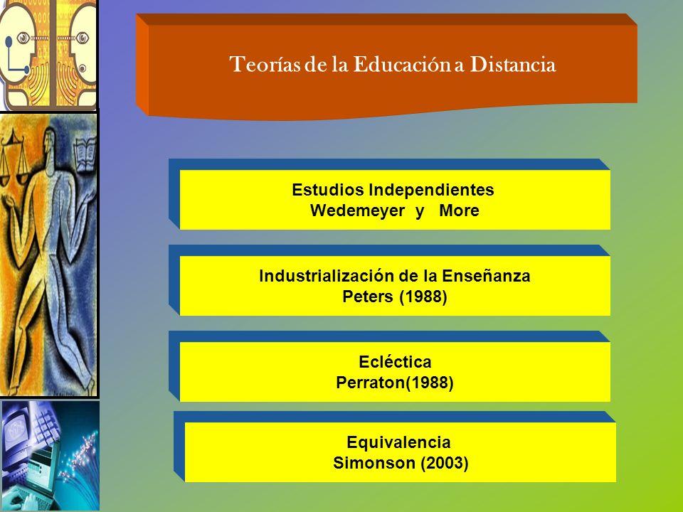 Teorías de la Educación a Distancia