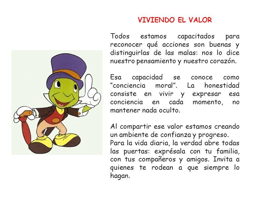 VIVIENDO EL VALOR
