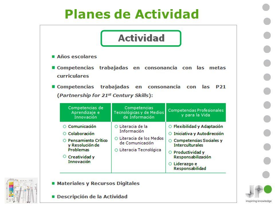 Planes de Actividad