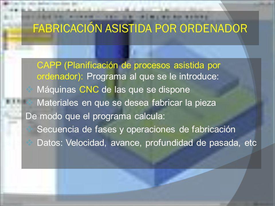 FABRICACIÓN ASISTIDA POR ORDENADOR