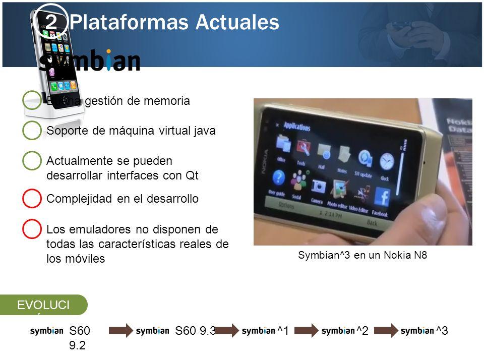 Plataformas Actuales 2 Soporte de máquina virtual java