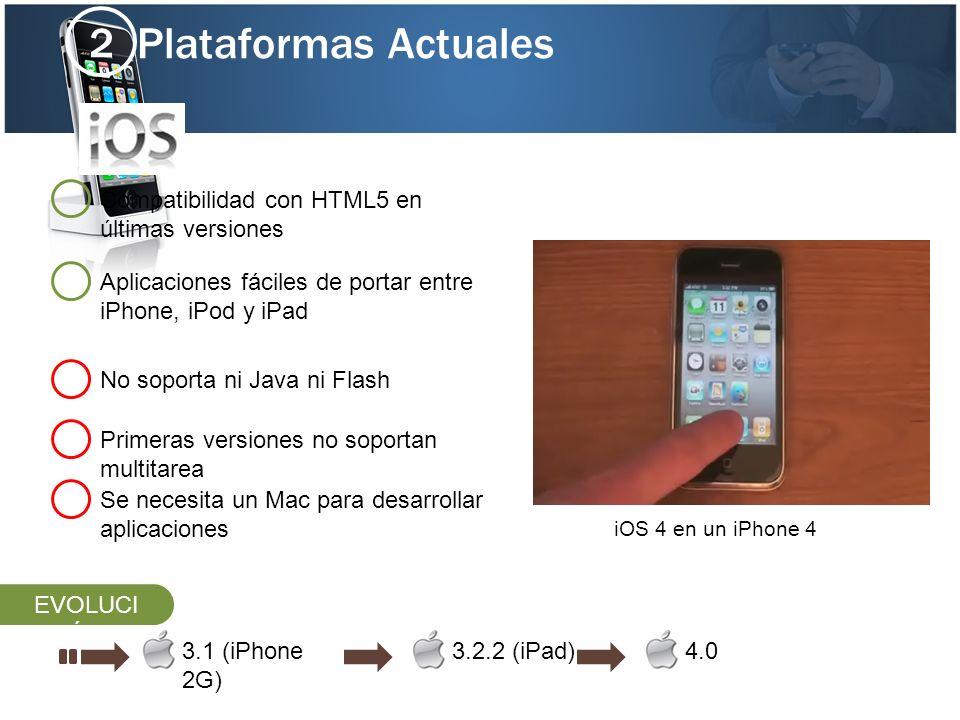 Plataformas Actuales 2 Compatibilidad con HTML5 en últimas versiones
