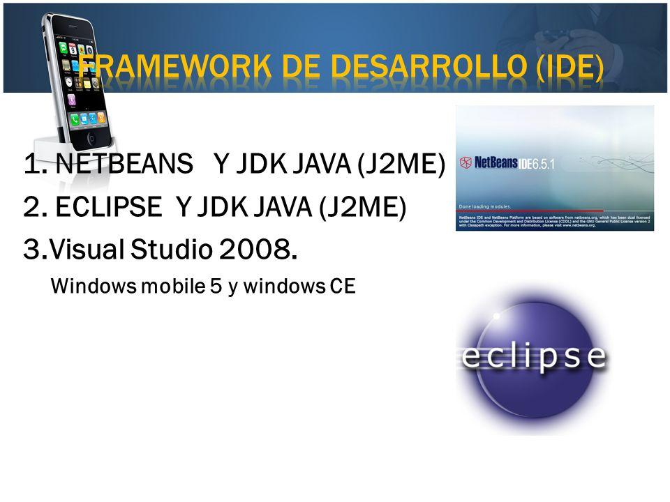 framework de desarrollo (ide)