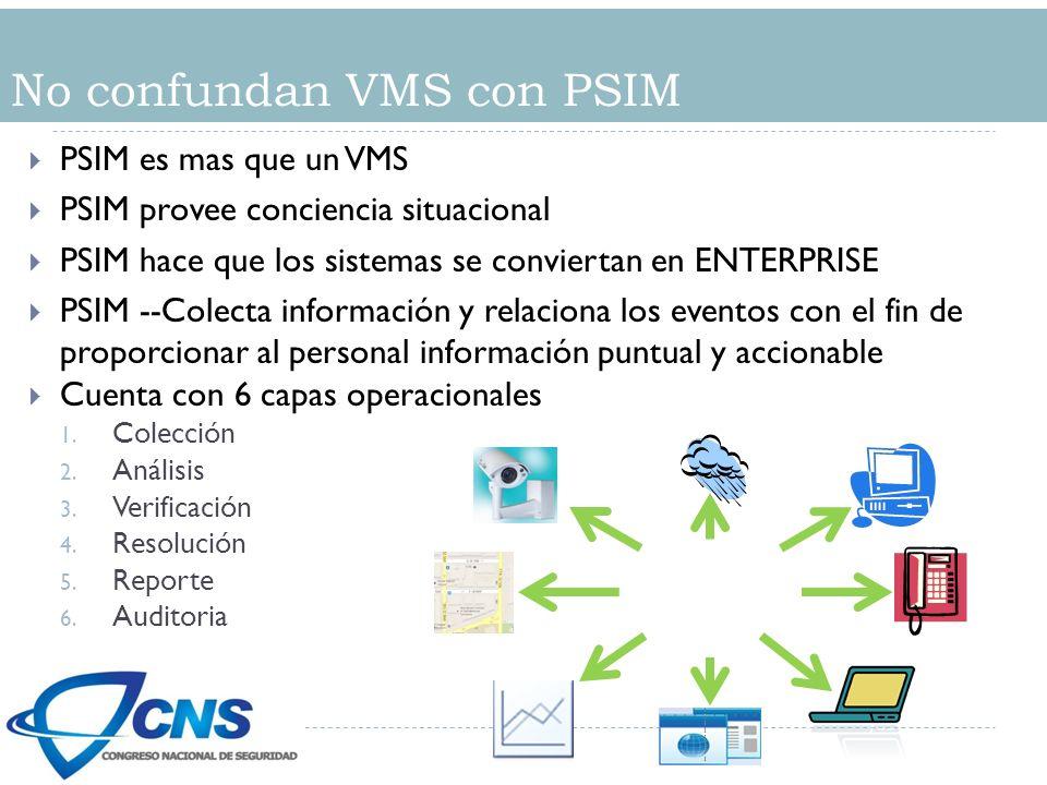 No confundan VMS con PSIM