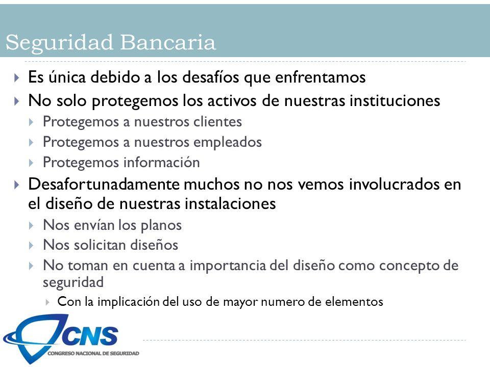 Seguridad Bancaria Es única debido a los desafíos que enfrentamos