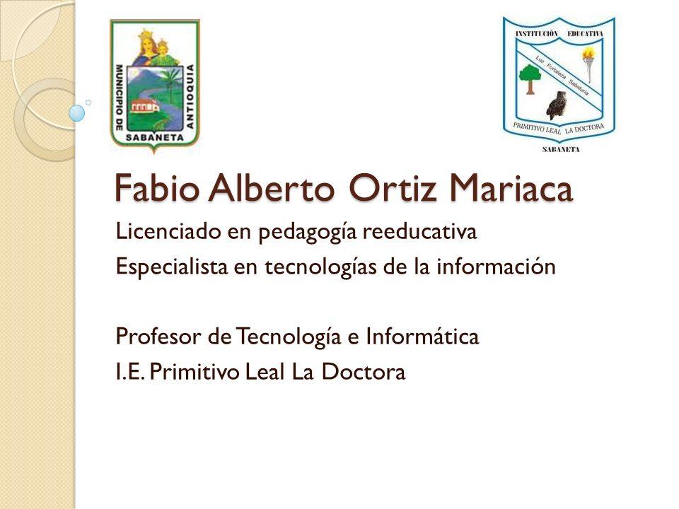 Fabio Alberto Ortiz Mariaca