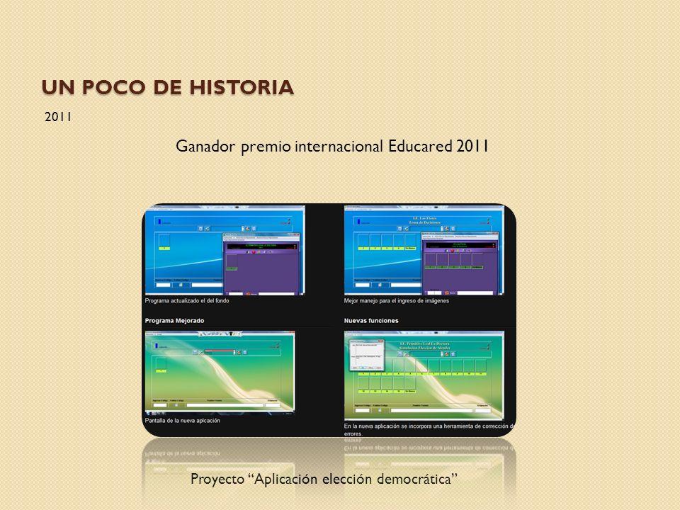 Un poco de Historia Ganador premio internacional Educared 2011