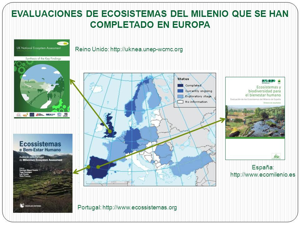 España: http://www.ecomilenio.es