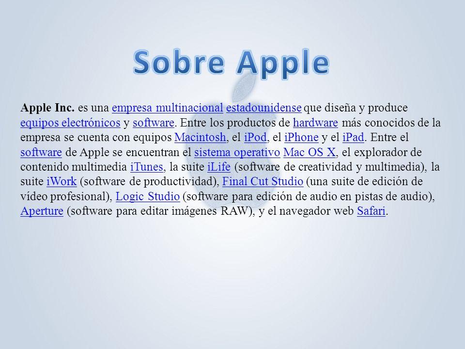 Sobre Apple
