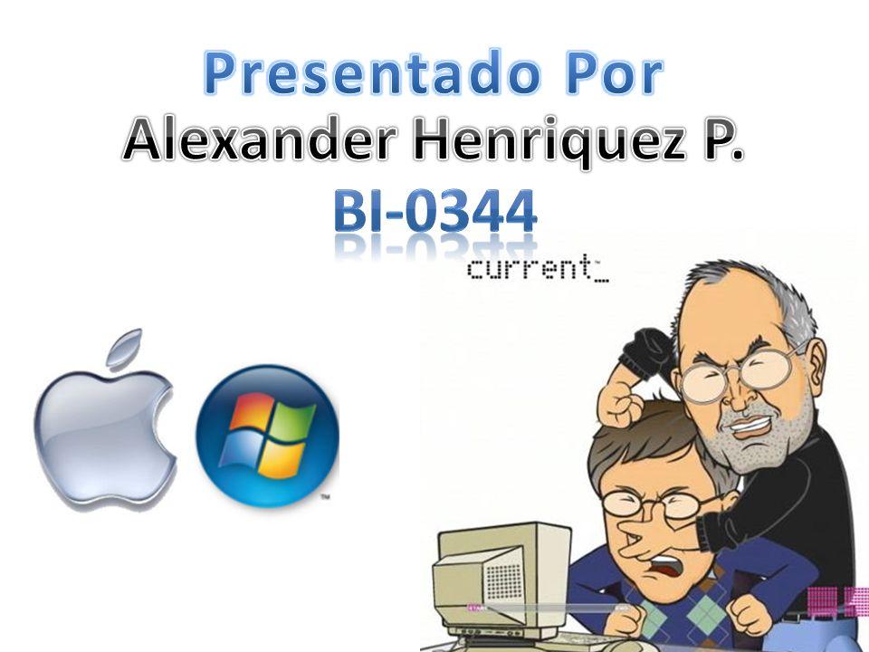 Presentado Por Alexander Henriquez P. BI-0344