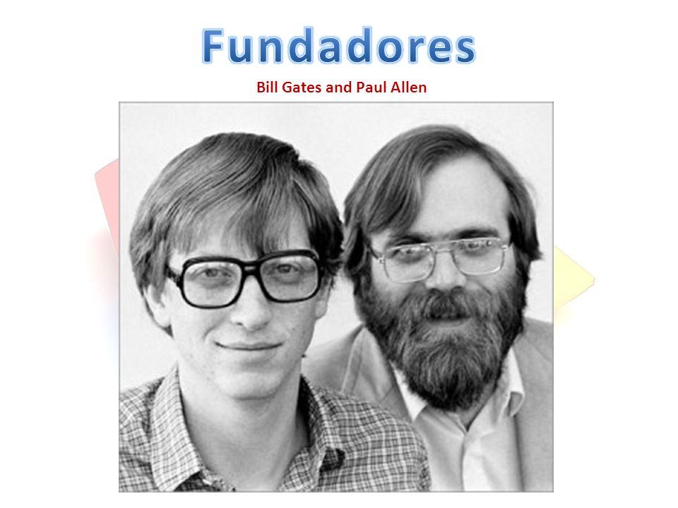 Fundadores Bill Gates and Paul Allen
