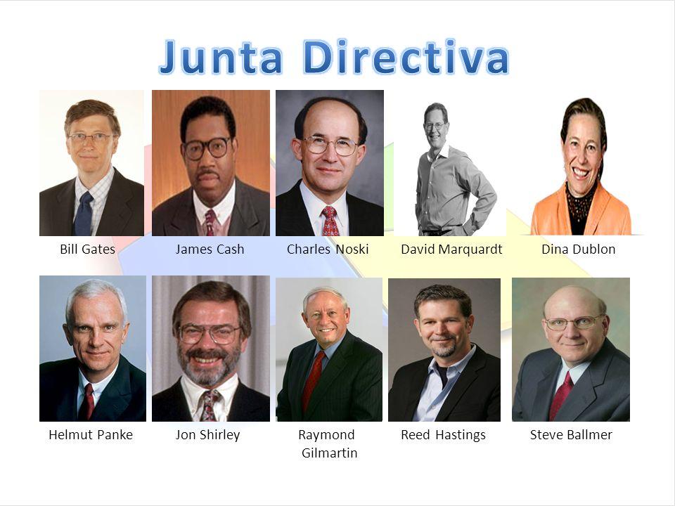 Junta Directiva Bill Gates James Cash Charles Noski David Marquardt