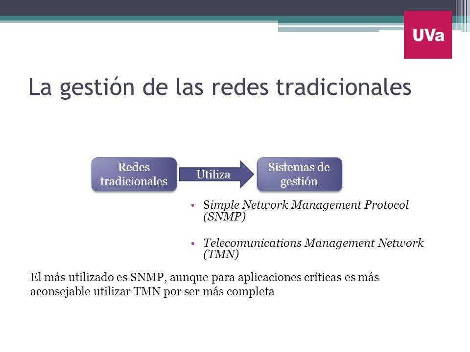 La gestión de las redes tradicionales