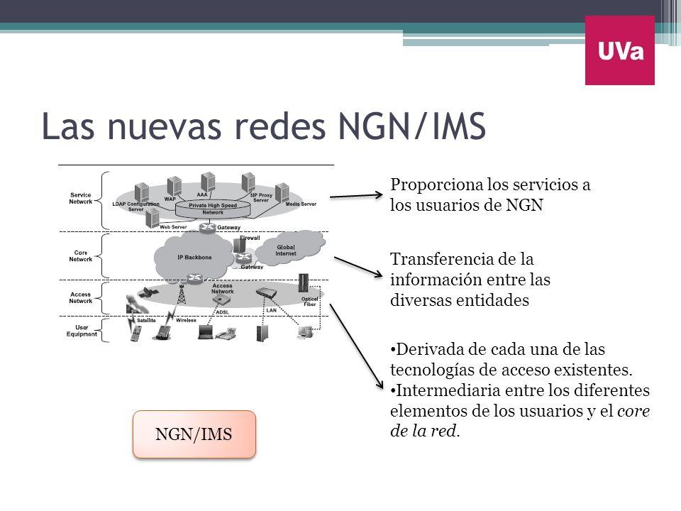 Las nuevas redes NGN/IMS