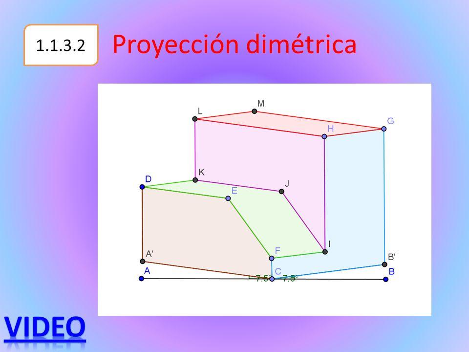 Proyección dimétrica 1.1.3.2 Video