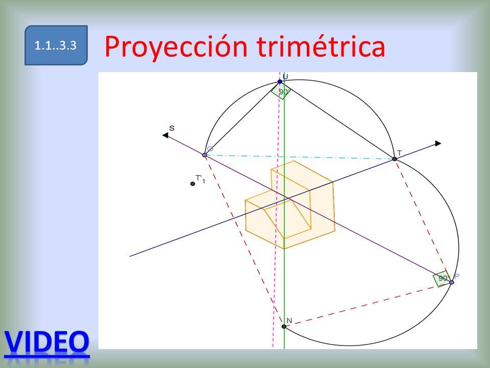 Proyección trimétrica