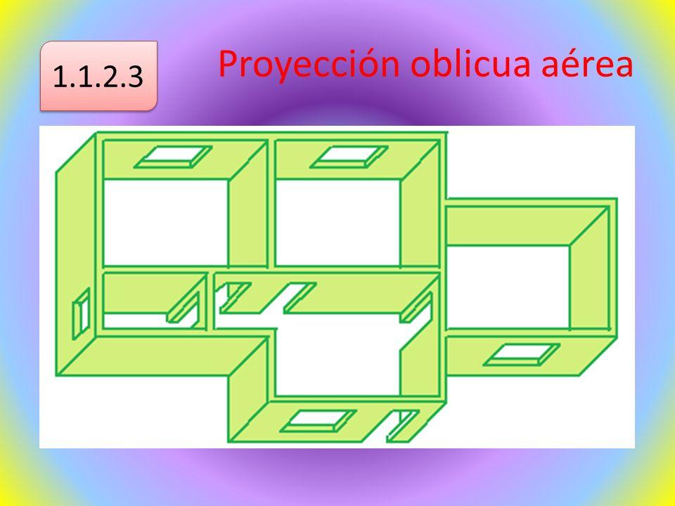 Proyección oblicua aérea