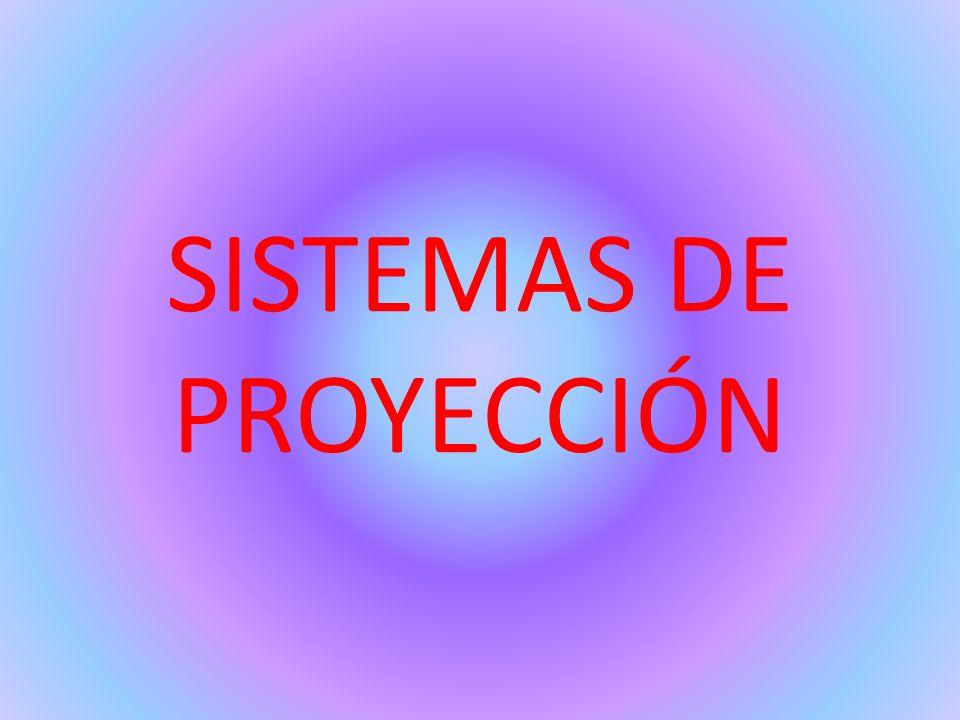 SISTEMAS DE PROYECCIÓN