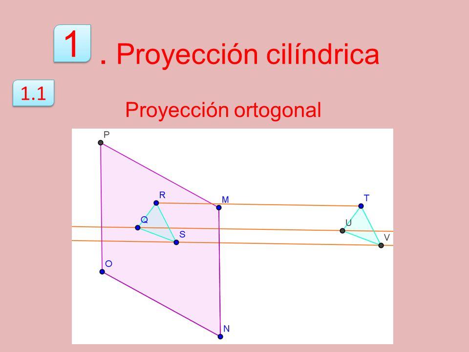 . Proyección cilíndrica