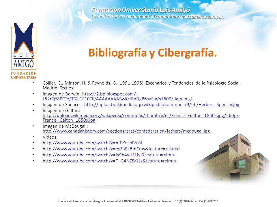 Bibliografía y Cibergrafía.