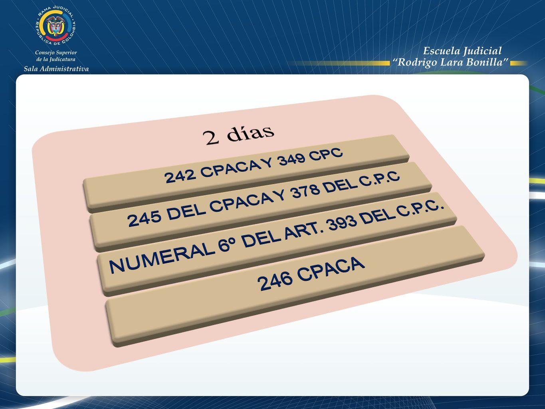 NUMERAL 6º DEL ART. 393 DEL C.P.C.