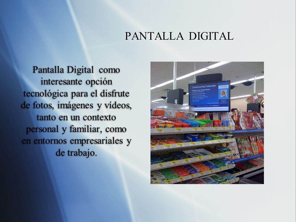 PANTALLA DIGITAL