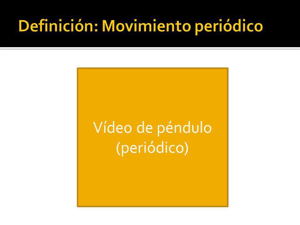 Definición: Movimiento periódico