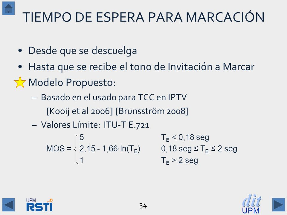 TIEMPO DE ESPERA PARA MARCACIÓN