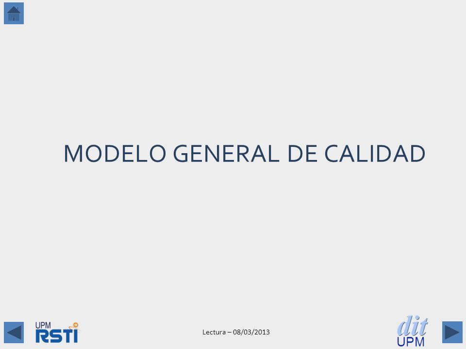 MODELO GENERAL DE CALIDAD